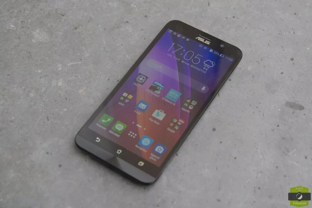 Test du Asus Zenfone 2, le haut de gamme abordable sous Lollipop