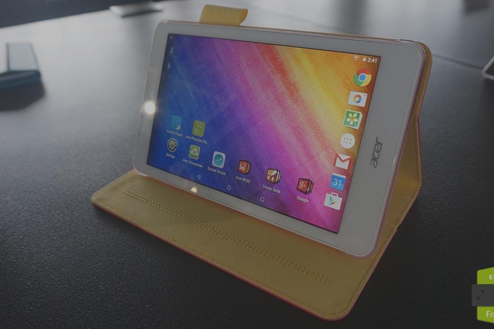 Prise en main de la Acer Iconia One 8, juste une mise à niveau