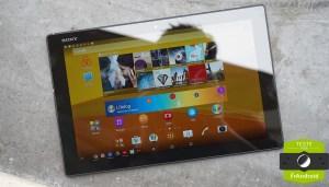 Test de la Sony Xperia Z4 Tablet : un Snapdragon...