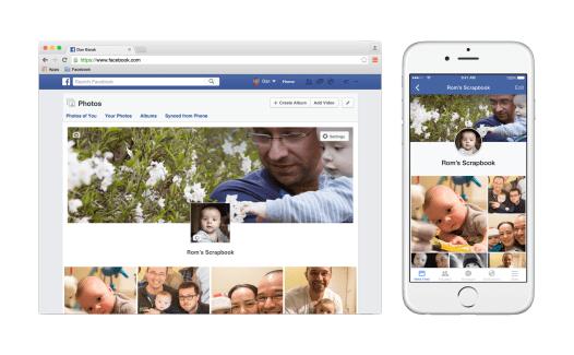 Scrapbook, l'album photo de vos enfants sur Facebook