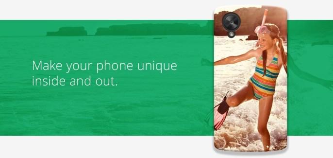 Google Workshop : un nouveau service de personnalisation des coques des Nexus en préparation ?
