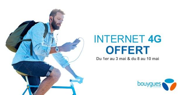 Bouygues Telecom offre deux nouveaux week-ends de data illimitée