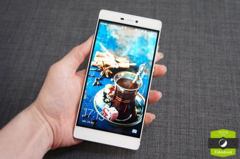 Test du Huawei P8 : la marque chinoise vise le premium