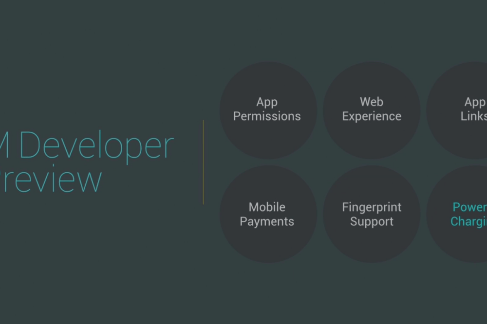 Android M Developer Preview : les nouveautés de la prochaine version d'Android