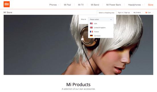 Xiaomi se prépare à vendre officiellement des accessoires en Europe et en France