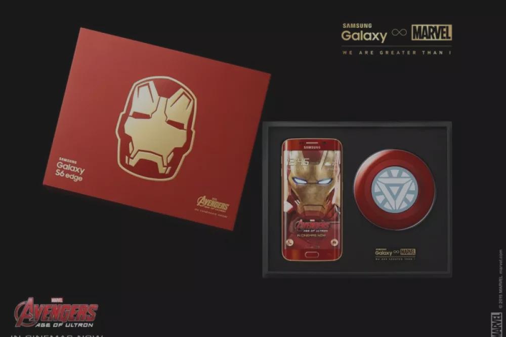 Samsung Galaxy S6 edge édition Iron Man : des photos et une prise en main vidéo