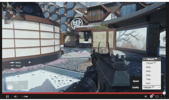 YouTube : les vidéos à 60 FPS arrivent sous Android, et en live