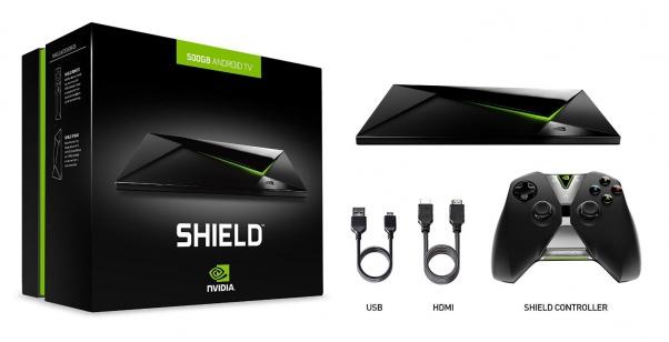 La NVIDIA Shield Android TV et la version Pro font une brève apparition sur Amazon