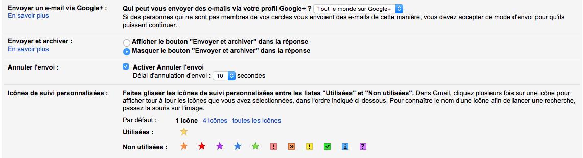 Vous pouvez désormais annuler l'envoi d'un email sur Gmail