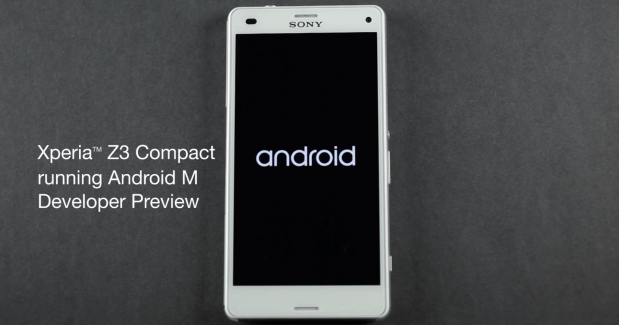 Android M Developer Preview disponible sur les terminaux Sony Xperia