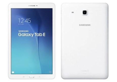Samsung préparerait de nouvelles Galaxy Tab E