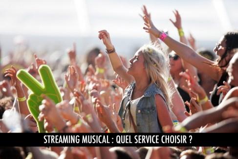 Streaming musical : quelle offre choisir ?