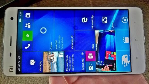 Microsoft va bientôt ouvrir sa bêta Windows 10 Mobile sur les smartphones Xiaomi