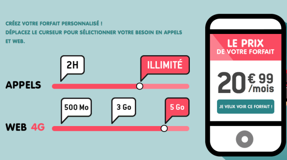 NRJ Mobile lance un forfait personnalisable en appels et data