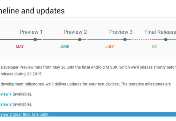 Android M Developer Preview 3 : il faut s'attendre à un peu de retard