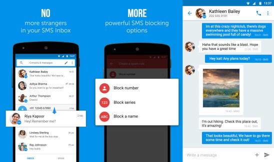 Truemessenger : l'application SMS qui identifie les numéros inconnus