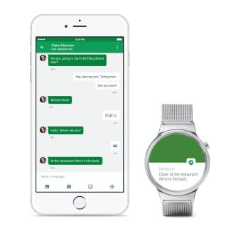 Android Wear est maintenant compatible avec iOS