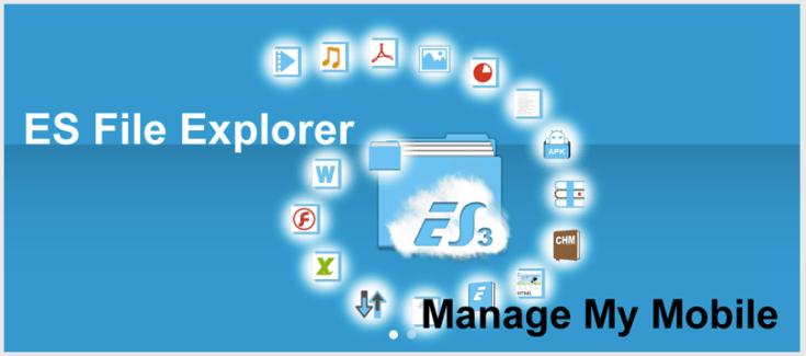 ES File explorer, la version Material Design est disponible sur le Play Store