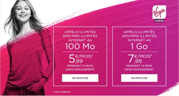 Bon plan : Virgin Mobile casse les prix sur Showroomprivé