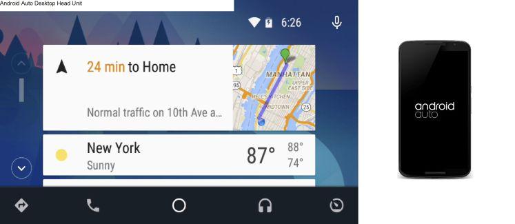 Desktop Head Unit : un émulateur pour Android Auto enfin disponible pour les développeurs