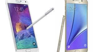 Samsung Galaxy Note 5 vs Galaxy Note 4 : ce qui...