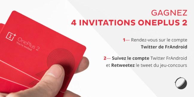 [FIN DU JEU-CONCOURS] OnePlus 2 : Gagnez 4 invitations avec FrAndroid !