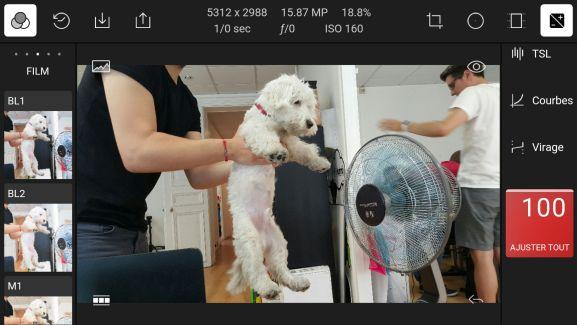 Polarr est un peut-être l'un des meilleurs éditeurs de photos sur Android
