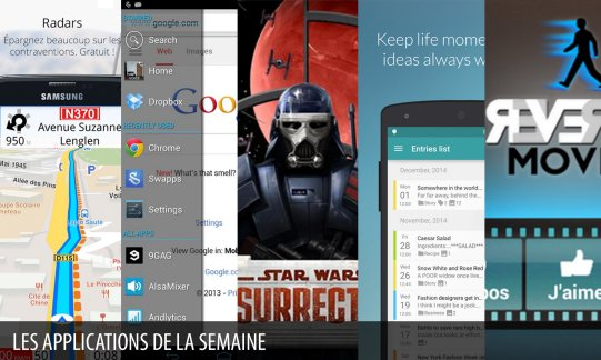 Les apps de la semaine : Star Wars™: Insurrection, Magic Earth Navigation Cartes…