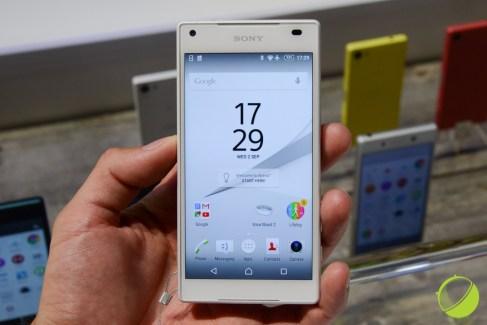 Prise en main du Sony Xperia Z5 Compact : le petit smartphone haut de gamme
