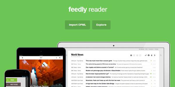 Feedly : l'agrégateur de flux RSS intègre les onglets Chrome personnalisés