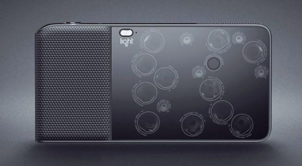 Light L16 : un curieux appareil photo Android muni de 16 objectifs