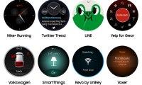 Samsung Gear S2 : une première liste de partenaires logiciels annoncée