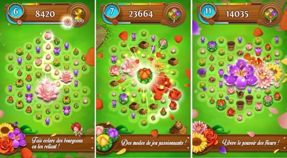 Blossom Blast Saga : quand Candy Crush se met au jardinage
