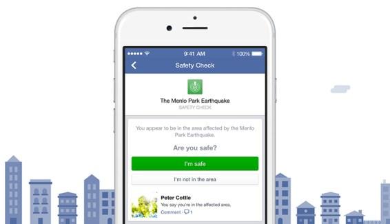 Face aux critiques, Facebook décide d'étendre le déclenchement de Safety Check