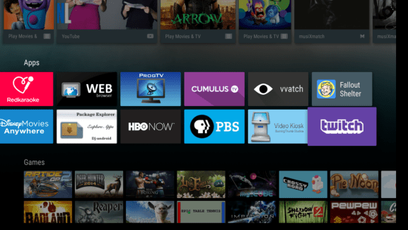 Twitch 4.5.1 s'invite sur Android TV