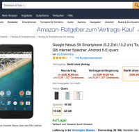 Bon plan : le Nexus 5X à 249 euros sur Amazon