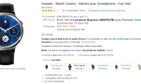 🔥 Bon plan Black Friday : Huawei Watch Classic à 199 euros au...