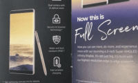 Samsung Galaxy Note 8 : la brochure officielle confirme certaines...
