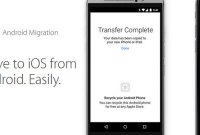 Apple simplifie la migration d'Android vers iOS
