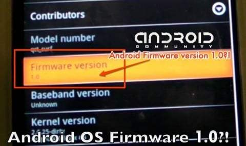 Android 1.0, on y vient…