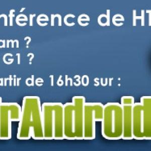 Demain, FrAndroid couvrera l'événement de HTC (T-Mobile G1)