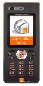 Orange va lancer Orange Application Shop