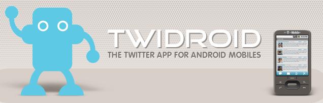 Twidroid, dans sa version 2… 2.0.2 !