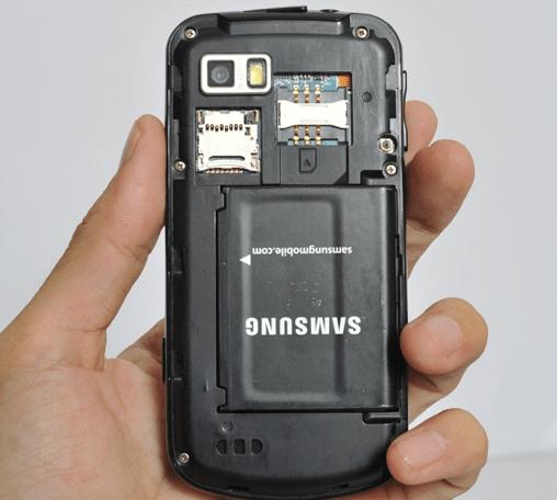 Samsung i7500 : plein de photos !