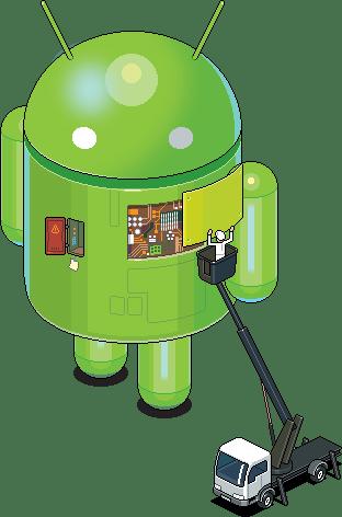 Android en pixel-art