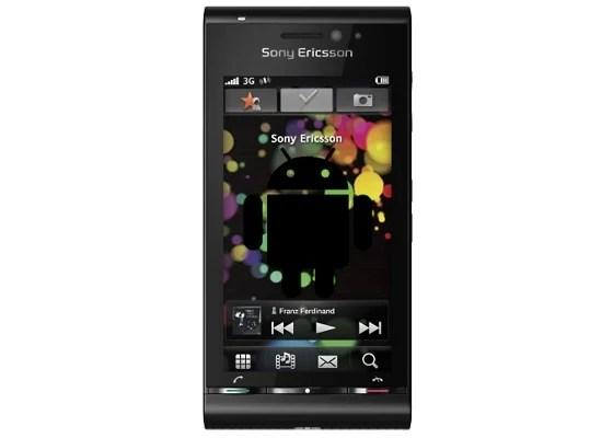 Le premier Sony Ericsson sortira avec Android 2.0