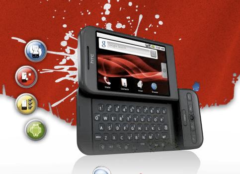 60 captures d'écran du Rogers HTC G1