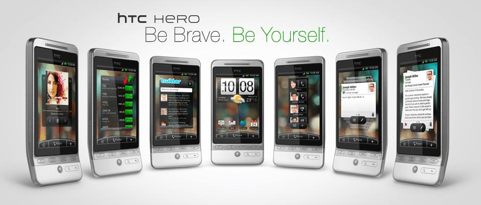 Découvrez le HTC Hero : design, spécificités, ergonomie…