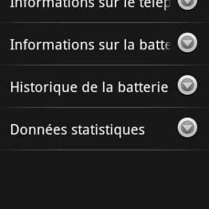 Les coulisses du menu Android caché