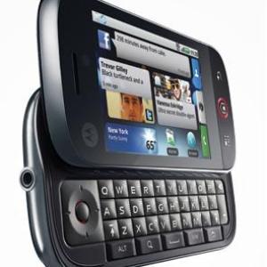 Le Motorola DEXT (CLIQ) sous Android enfin révélé